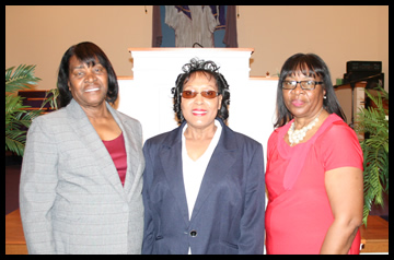Dorothy Beauregard, Darlene Hardaway, Katherine Perry